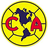 "Club America Mexico - Mexico Football Soccer Futbol - Car Sticker - 4"""