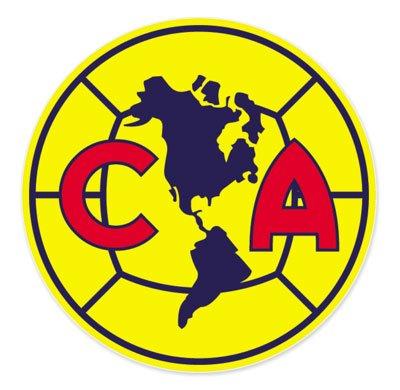 Club America Mexico - Mexico Football Soccer Futbol - Car Sticker - (Club Decal)
