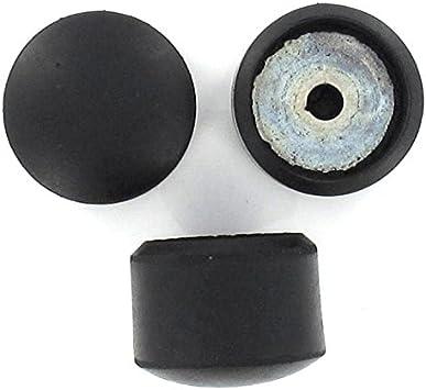 aus Gummi 19 mm Schutzkappen f/ür M/öbel 16 St/ück verschiedene Gr/ö/ßen Lifeswonderful/®