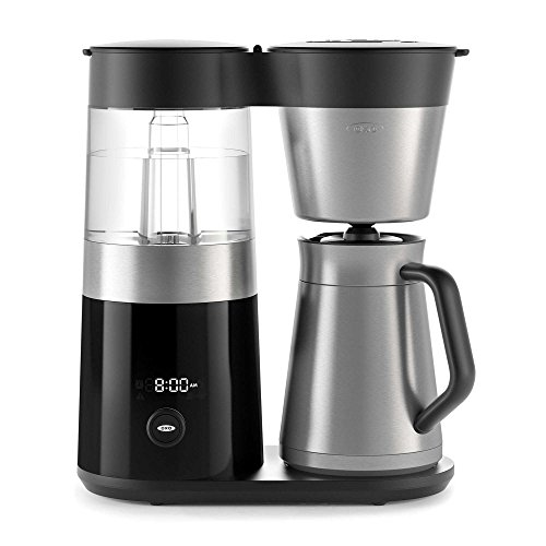 OXO On Barista Brain 9 Cup Coffee Maker (with 100-Count Number 4 Natural Brown Super Premium Coffee Filters and 14 oz. Descaling Solution) by by OXO (Image #3)