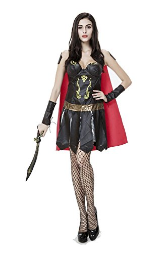 PINSE Greek Goddness Spanish Gladiator Halloween -