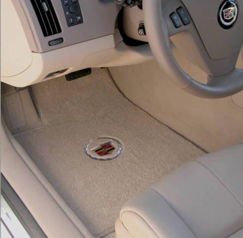 Lloyd Mats Ultimat Front Floor Mats Cadillac STS Silver Crest Crest 2005 2006 2007 2008 2009 2010 2011