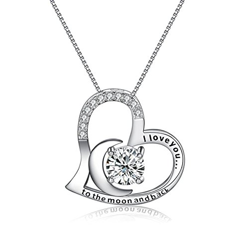 Heart Necklace Engraved