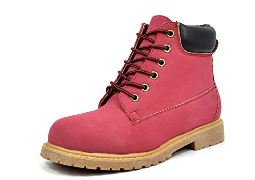 DREAM PAIRS TACOMA-1 Women's Fashion Cas - Red Lace Up Boots Shopping Results