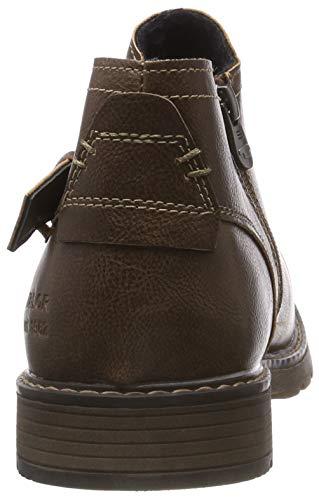 Bottes Marron brown Tailor Homme 00012 Tom 5881902 Classiques amp; Bottines HwBax0