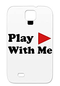 Scratch-resistant Sex Love Erotic Play With Me Women Woman Sexy Sexe Men Red Play For Sumsang Galaxy S4 Protective Case