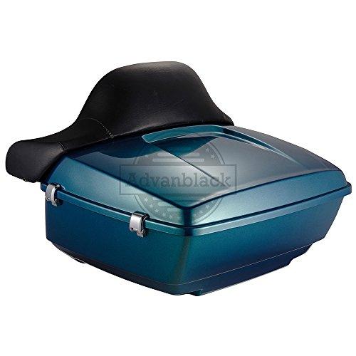 Advanblack Daytona Blue King Tour Paks Pack Luggage Trunk with Wrap-around...