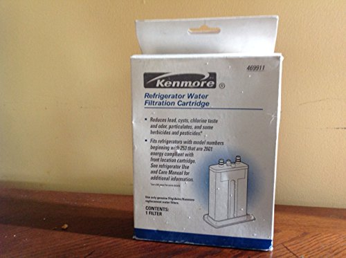 Kenmore 46-9911 / WF2CB Refrigerator Water Filtration Cartridge (9911 Water Filter compare prices)