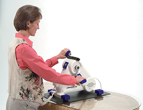 Exerpeutic Motorized Leg and Arm Exercise Bike with Bonus Mat