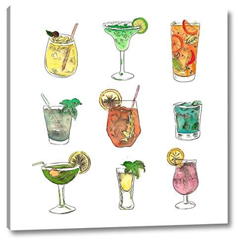 Atelier Cocktail - Colorful Cocktails by Atelier B Art Studio - 23
