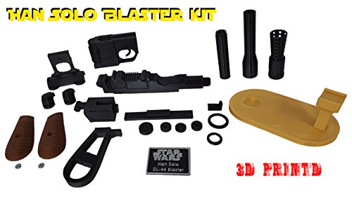 (3D Cauldron Han Solo Blaster Kit ( Not an Official Star Wars Blaster ) (Blaster with)