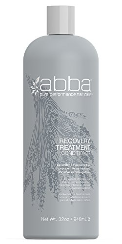 Abba Moisture - ABBA Recovery Treatment Conditioner, Rosemary, 32 Fl. oz.