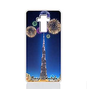 IMPRESS LG G4 STYLUS Hard Case with Burj Khalifa Design