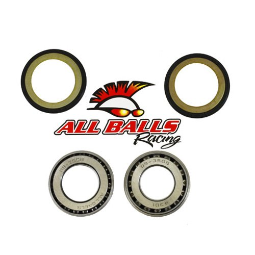 Power Head Bearing (All Balls Steering Stem Bearing Kit for Kawasaki Suzuki Victory Yamaha)