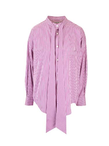 Balenciaga Luxury Fashion Womens 520497TGM025075 Pink Shirt | Fall Winter 19