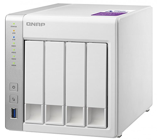 Qnap TS-431P-US 4-bay Personal Cloud NAS, ARM Cortex A15 1.7GHzDual Core, 1GB RAM by QNAP