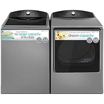 amazon com kenmore 5 3 cu ft top load washer gas dryer bundle rh amazon com