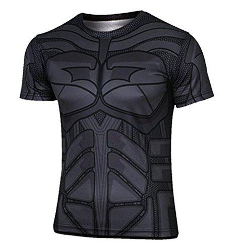 Madhero-T-shirt-Collo-a-U-Uomo