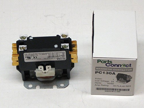 packard-contactor-c130a-1-pole-30-amps-24-coil-voltage