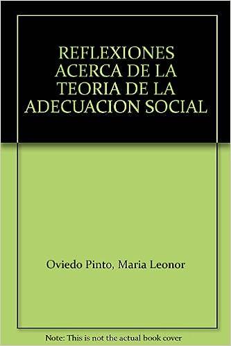 Amazon.com: REFLEXIONES ACERCA DE LA TEORIA DE LA ADECUACION ...