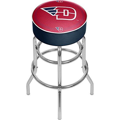 - NCAA University of Dayton Padded Swivel Bar Stool