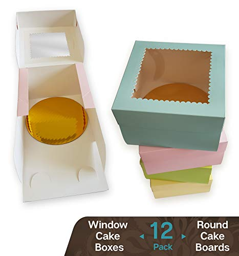 CooKeezz Couture - Window Cake Boxes 6