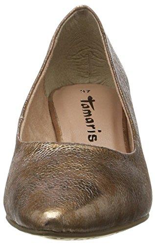 Tamaris22415 - Zapatos de Tacón Mujer Rosa (ROSE STRUCTURE 579)