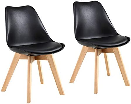 GOTMINSI Set of 2 Modern Style Chair Dining Chairs