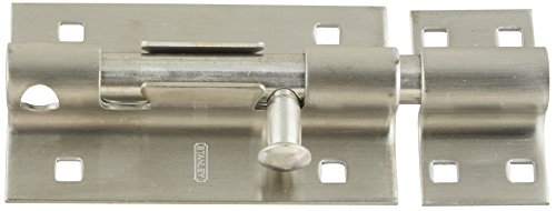 - Stanley Hardware S808-543 1085 Extra Heavy Barrel Bolts - Stainless Steel in Stainless Steel, 5