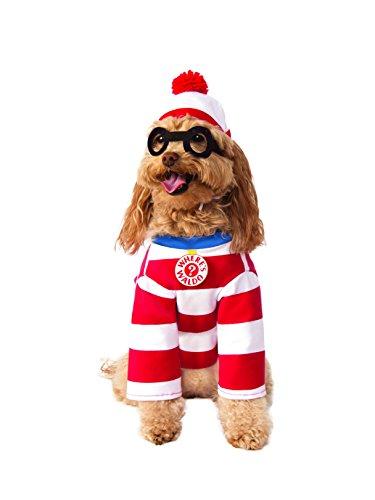 Rubie's Where's Waldo Pet Costume, Large ()