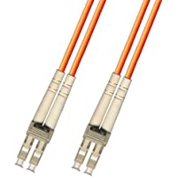 10M LC/LC Multimode Duplex Fiber Optic Cable (50/125) - LC to LC