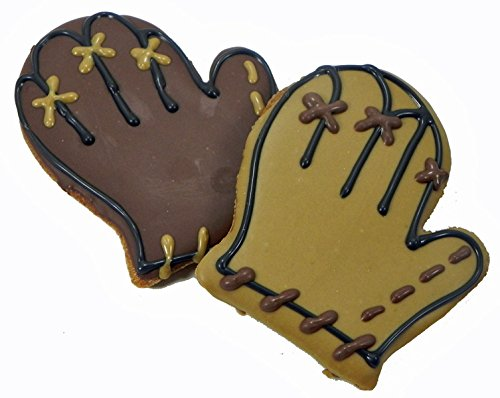 Pawsitively Gourmet Baseball Mitts Cookies for Dogs by Pawsitively Gourmet