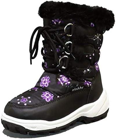 Kinder Winterstiefel Winterschuhe (305D) Stiefel Jungen,Mädchen Schuhe