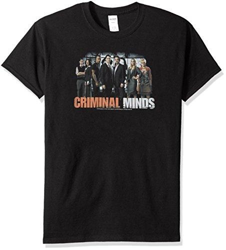 Trevco Men's Criminal Minds the Brain Trust T-Shirt