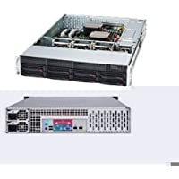 Supermicro 740 Watt 2U Rackmount Server Chassis (CSE-825TQ-R740LPB)