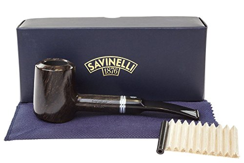 Savinelli Italian Tobacco Smoking Pipes, Bianca Smooth 310 KS