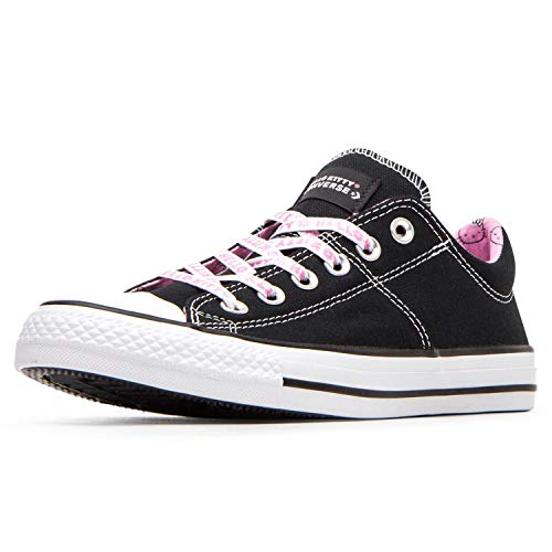 Converse Chuck Taylor All Star Lo Hello Kitty Fashion Sneakers (9 M US Women, Black Hello Kitty Madison) (For Kitty Clothes Hello Adults)