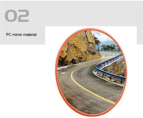 カーブミラー ドライブウェイガレージ耐候性屋外交通ミラー30センチメートル45センチメートル60センチメートル75センチメートル80センチメートル100センチメートルための凸面鏡監視ミラー RGJ4-22 (Size : 800mm)