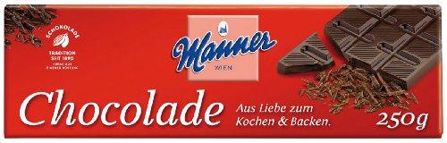 Manner Schokolade zum Kochen & Backen - 250gr - 6x