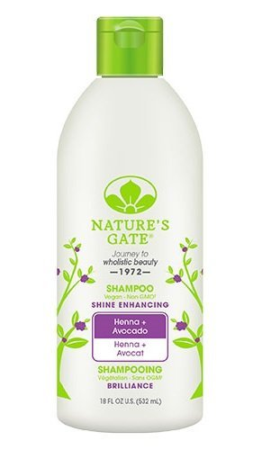 Nature's Gate Shine Enhancing Shampoo for Dull, Lifeless Hair with Henna, 18 Ounce (532 ml) (Care Natures Gate)