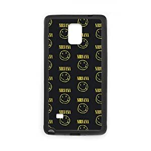 Nirvana Samsung Galaxy Note 4 Cell Phone Case Black MSY179993AEW