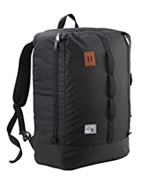 Cabin Max Toulouse Flight Approved Cabin Luggage Backpack (Black)