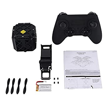 414 2.4G Selfie FPV Foldable RC Drone Quadcopter with Altitude Hold 0.3MP HD Wifi Camera Headless Mode 3D Flips One Key Return
