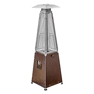 AZPH Top Selling Tabletop Patio Heater- Affordable Portable Heater- 9500 BTUs- Propane Powered Outdoor Patio Heater- Perfect for Parties, Cold Nights, Entertaining and More- Table Top Heater
