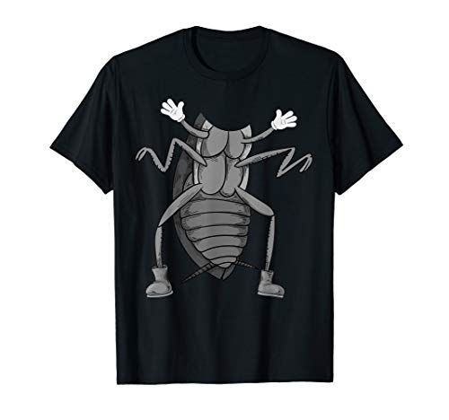 Cool Easy Cockroach Insect Halloween Costume Shirt Lazy -