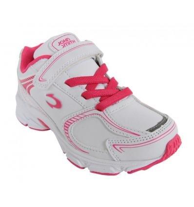 Chaussures de sport pour Garçon et Fille et Femme JOHN SMITH ROXI L 14I BLANCO-ROSA FUCSIA