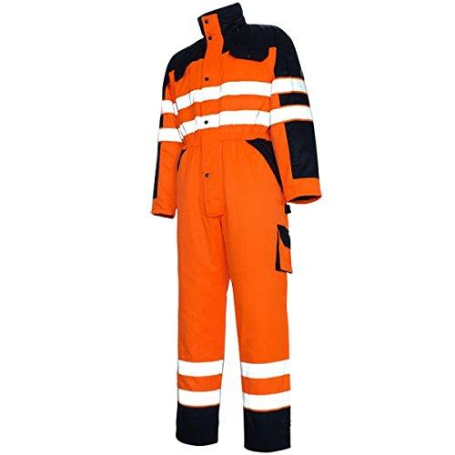 Mascot Riva Boiler Anzug Overall S, orange / marine, 00921-660-141