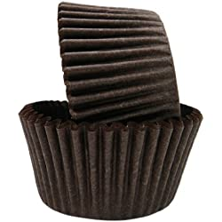 Regency Wraps Greaseproof Baking Cups, Solid Brown, 40-Count, Standard.