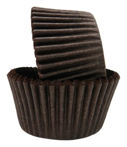 Regency Wraps Greaseproof Baking Cups, Solid Brown, 40-Count, Standard. ()