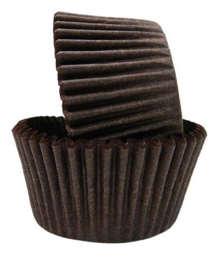 (Regency Wraps Greaseproof Baking Cups, Solid Brown, 40-Count, Standard.)